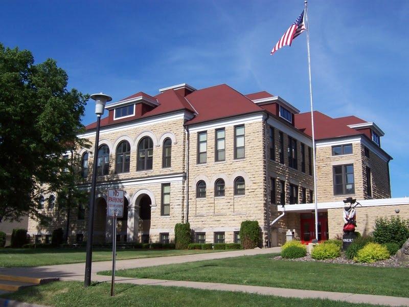 Original School Building, Shullsburg, WI.